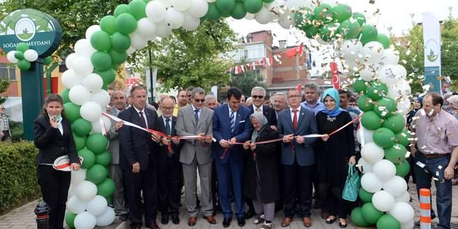 Soğanlı Meydanı hizmete açıldı