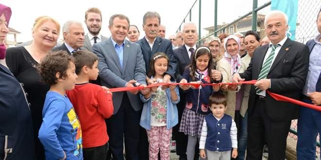 Demirci Mahallesi yeni parkına kavuştu