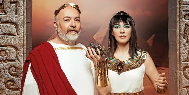 Kleoparta ve Sezar geri döndü