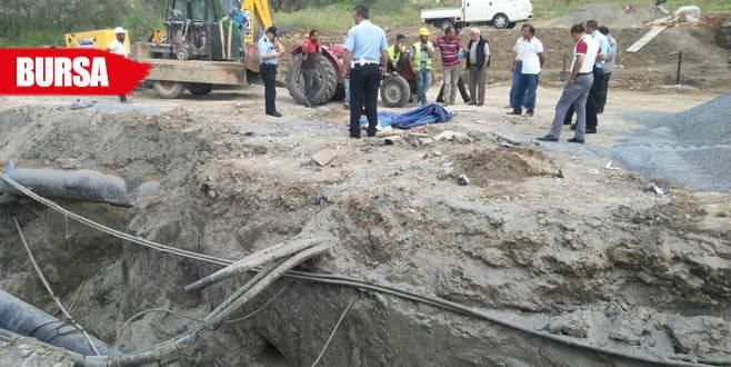 Alt yapı kazısında insan kemikleri ortaya çıktı