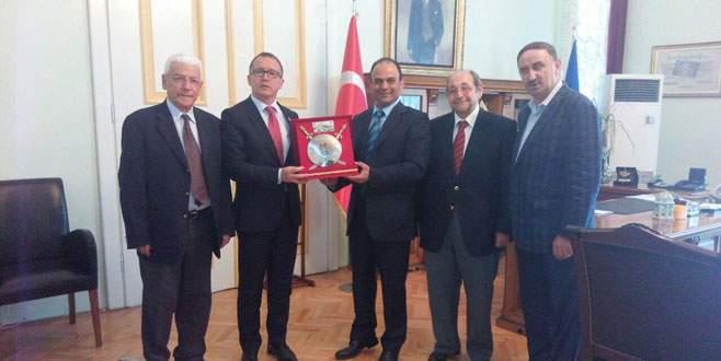 'İsrail Başkonsolosu'ndan Büyükşehir'e ziyaret