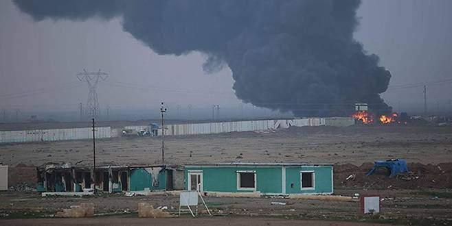 Irak güvenlik güçleri Beyci rafinerisine girdi