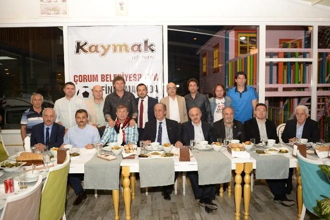 Tanju Çolak'tan Çorum Belediyespor'a Destek