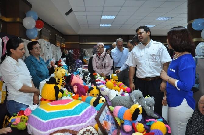 Ürgüp Halk Eğitimi Merkezi Kursiyerlerinin Hazırladığı Yılsonu Sergisi Açıldı
