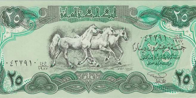 Irak dinarı eriyor