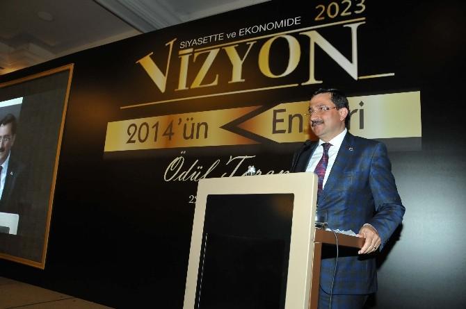 Başkan AK'a Vizyon 2023'den Ödül