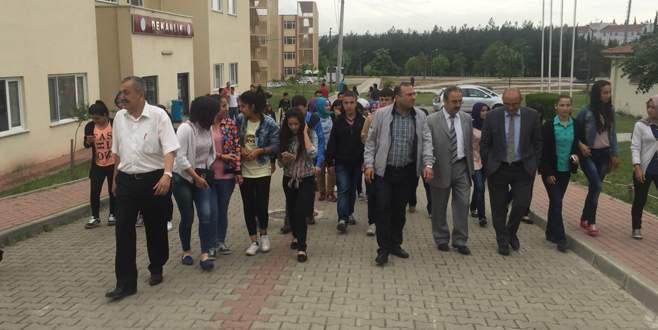 Harmancıklı öğrencilerin Bursa çıkarması