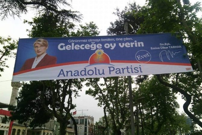 Anadolu Partisi'nden Seçim Afişi Tepkisi