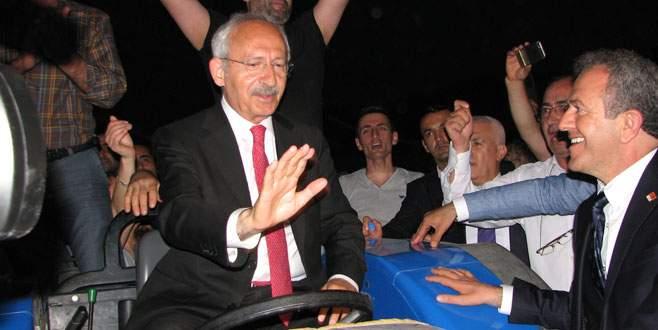 Kılıçdaroğlu'nu çiftçiler uğurladı
