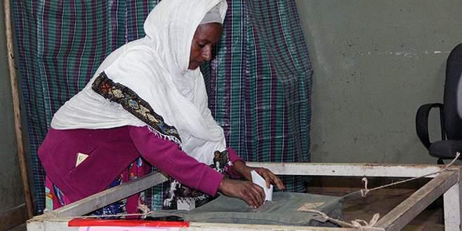 Etiyopyalılar sandık başında