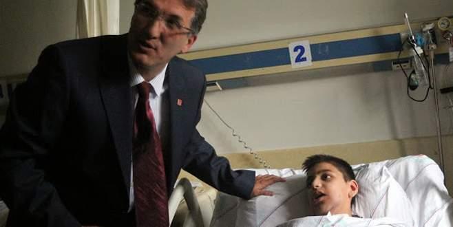 CHP Bursa milletvekili adayı küçük çocuğu ölümden kurtardı