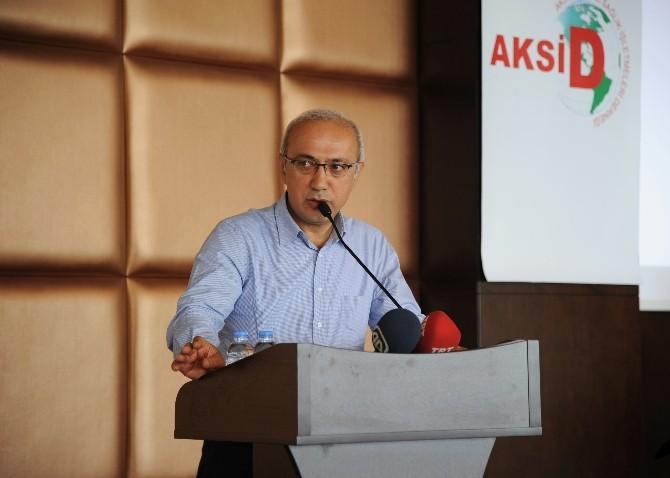 AK Parti'li Lütfi Elvan Sağlık Sektörü Temsilcileriyle İle Buluştu
