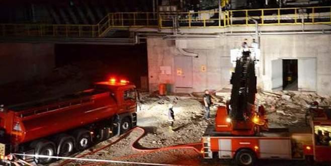 Çimento fabrikasında patlama: Ölü ve yaralılar var