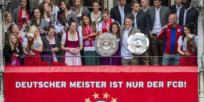 Bayern Münih 25. şampiyonluğu kutladı