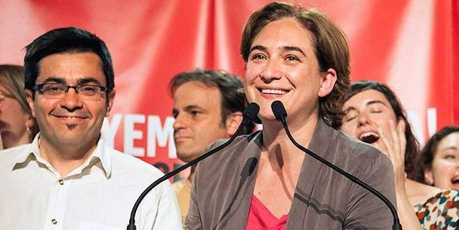 Barcelona ilk kadın belediye başkanını seçti