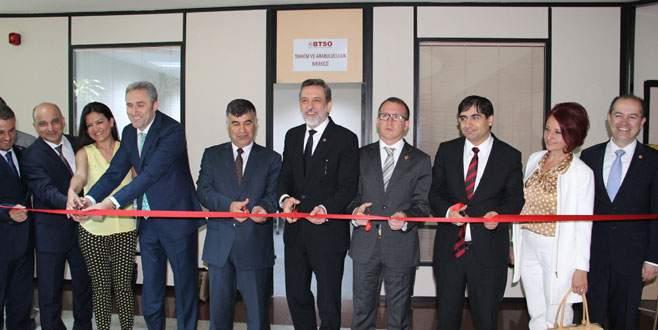 Arabulucuk ve Tahkim Merkezi BTSO'da açıldı