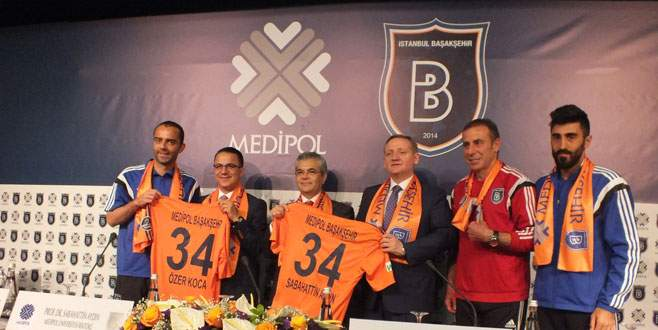 Başakşehir'e isim sponsoru