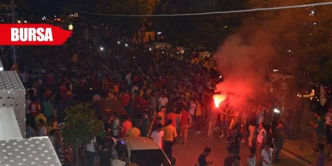 Galatasaray taraftarı 'Bursaspor' diye bağırdı