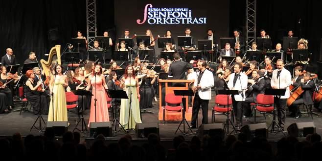 Bursa'nın 54 yıllık geleneği coşkulu başladı