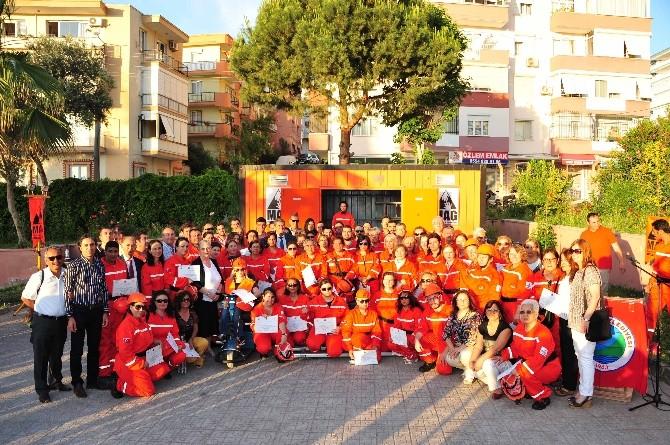 Balçova Afet Gönüllüleri Yemin Etti