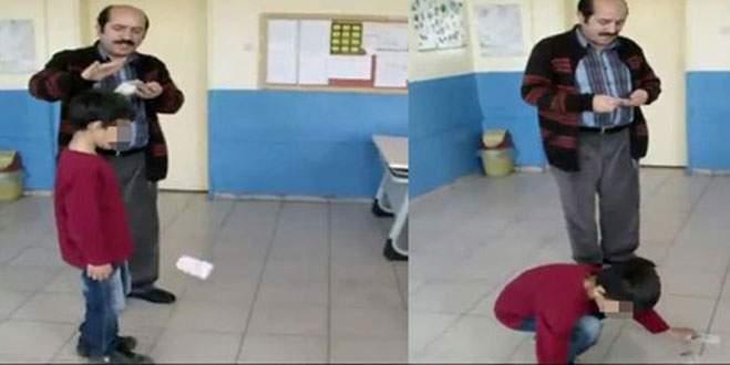 Okul müdürü öğrencilerin başından aşağı para saçtı