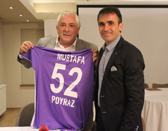 Özcan'dan Poyraz'a Teşekkür