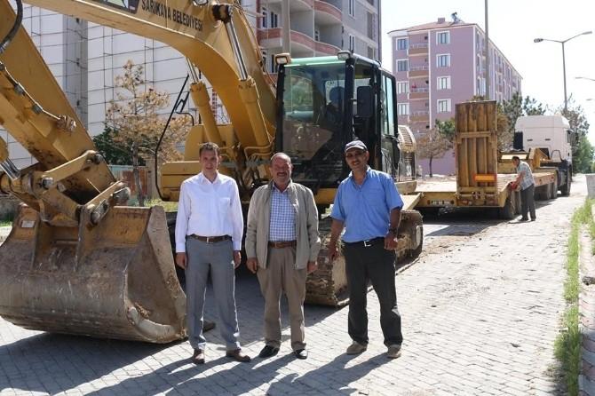 Sarıkaya Belediyesi Yol Yapım Çalışmaları Başladı