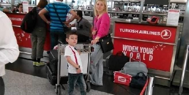 Minik Kayra tedavi için Amerika'ya uçtu