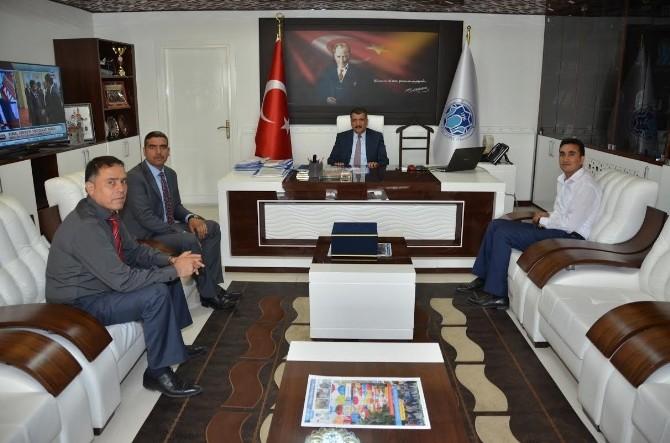 Bem-bir-sen Yönetiminden Başkan Gürkan'a Ziyaret
