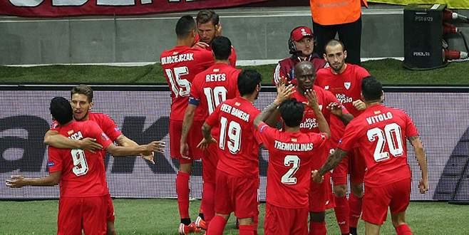 Sevilla ikinci kez kupayı kazandı