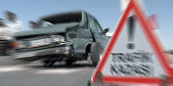 Bursa'da korkunç kaza! 1 ölü 3 yaralı