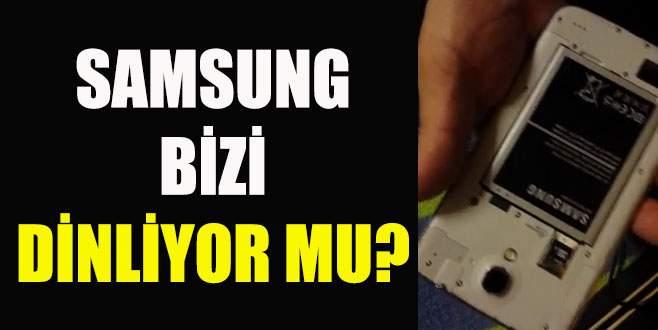 Samsung'dan dinleme açıklaması