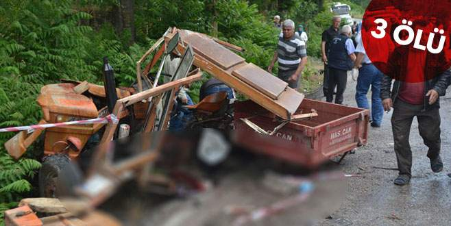 Feci kaza! Tankerle traktör çarpıştı
