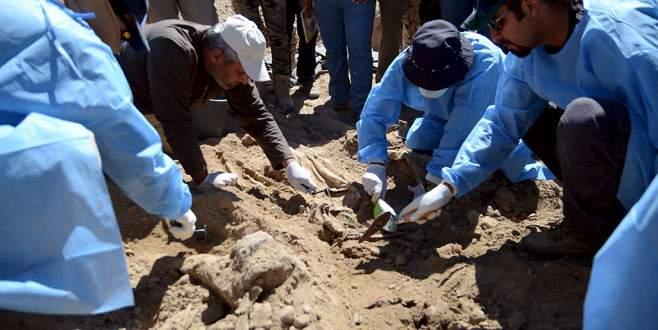 Tikrit'te toplu mezar
