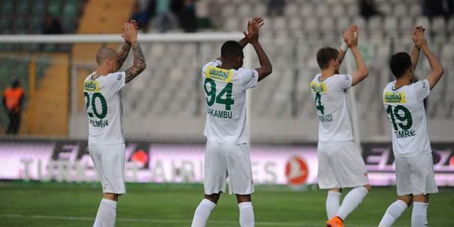 Bursaspor: 0 – 0 :Torku Konyaspor (Maç sonucu)