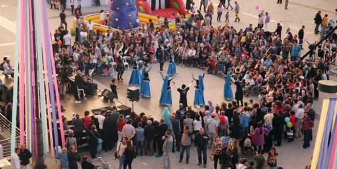 Nilüferliler, Mutluşehir Festivali'nde coştu
