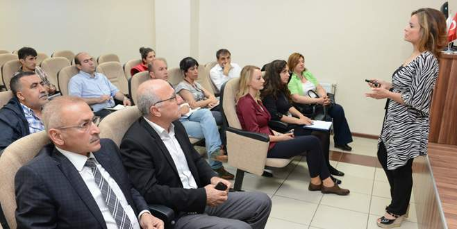 Nilüfer'de taşeron firmalara eğitim