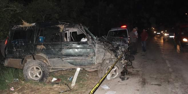 Korkunç kaza! 4 ölü 4 yaralı