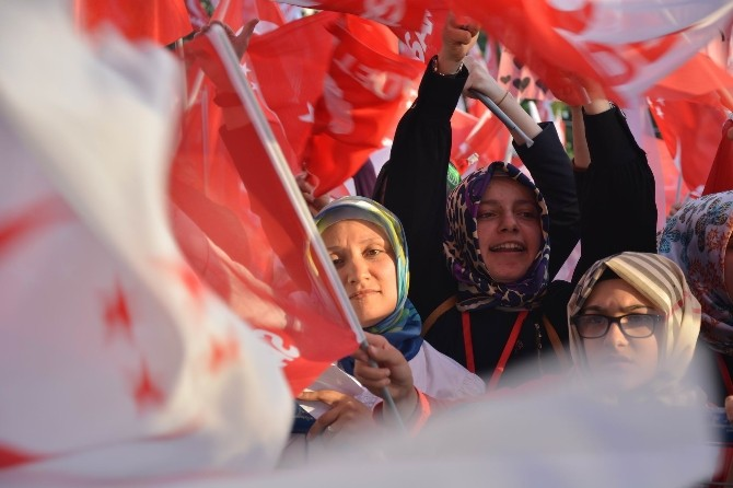 'Milli İttifak'ın Bursa mitingi