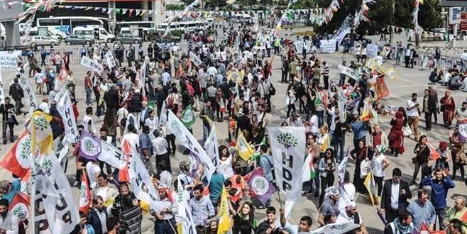 HDP'nin Samsun mitinginde gerginlik