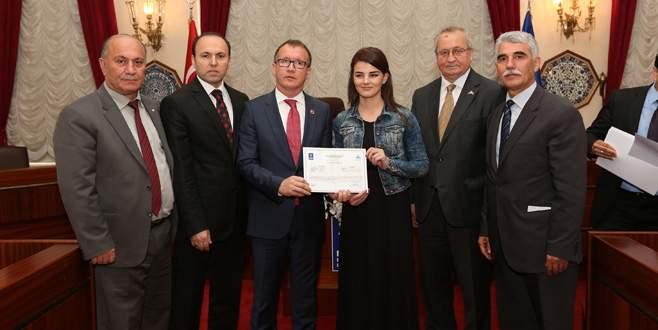 Kosovalı kursiyerler sertifikalarına kavuştu
