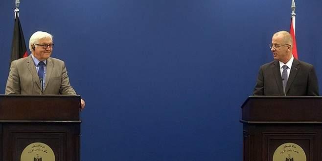 Steinmeier Filistin Başbakanı ile görüştü