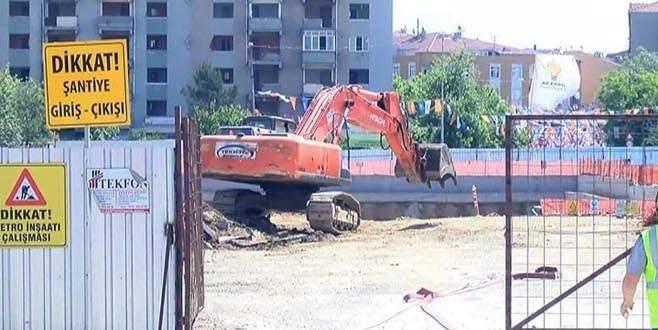 Metro inşaatında doğalgaz patlaması