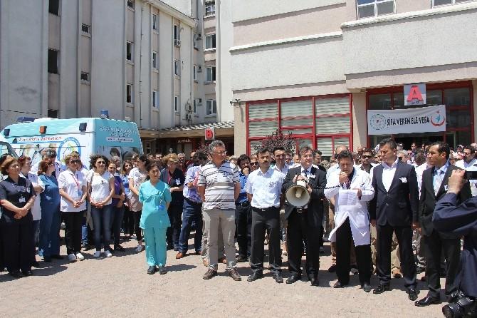 Bartın'daki Sağlık Çalışanlarından Op. Dr. Kamil Furtun'un Öldürülmesine Tepki
