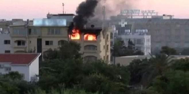 Otelde yangın: 2 ölü