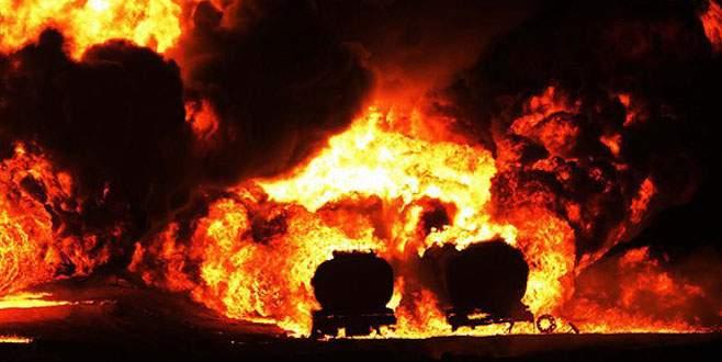 Petrol tankeri infilak etti: 69 ölü
