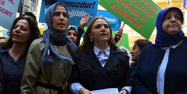 Sümeyye Erdoğan'ın da katıldığı eylemde gerginlik