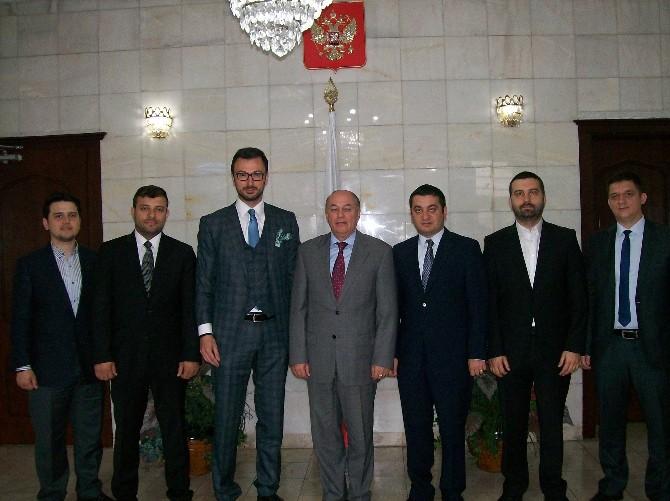 Tsiad' Dan Rusya Federasyonu Başkonsolosu Dimitry N. Talanov' A Ziyaret