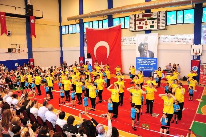 Balçova'da Spor Okullarına Unutulmaz Final