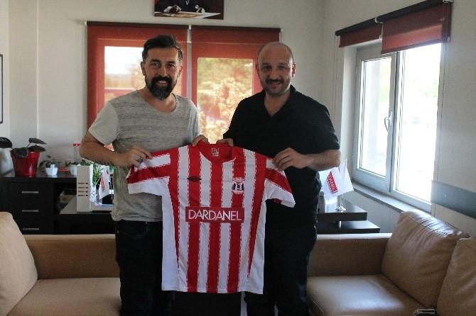 Bigaspor Kulüp Başkanı Durak Çanakkale Dardanelspor Kulübünü Ziyaret Etti